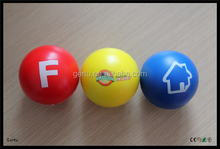 New Promotional soft foam stress ball, stress reliever ,squeeze ball