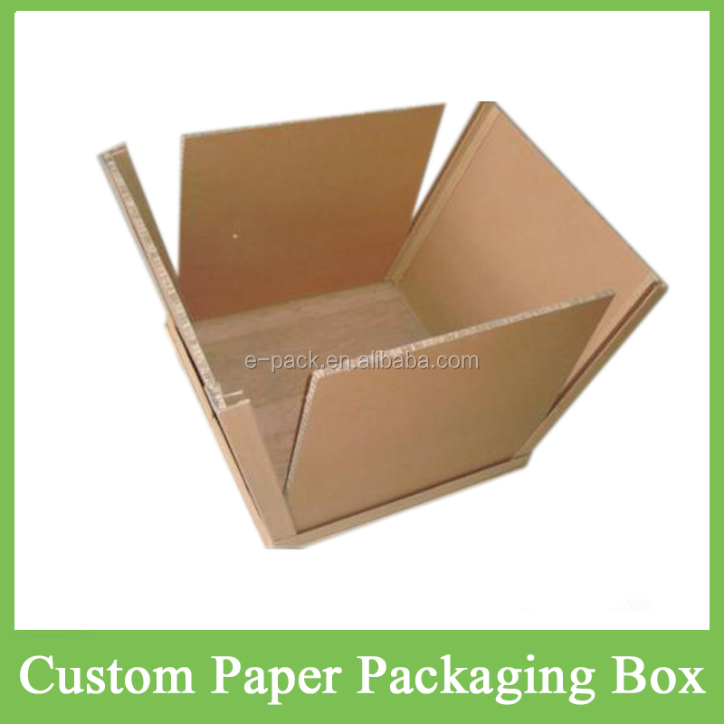 Hot Sale High Quality Customised/Customized Waterproof Recyclable Honeycomb Paper Carton Box Packaging for Warehouse/Transport