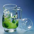 Wholesale 1.5L Cheap Glass Jug With Lid