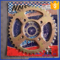 SCL-2013090279 chain sprocket tvs max100 motorcycle rear sprocket