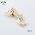 zinc alloy metal clip swivel hook handbags hardware