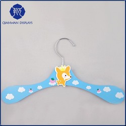 Fashion Child Suits Small Clip Hanger for Sale QianWan Displays