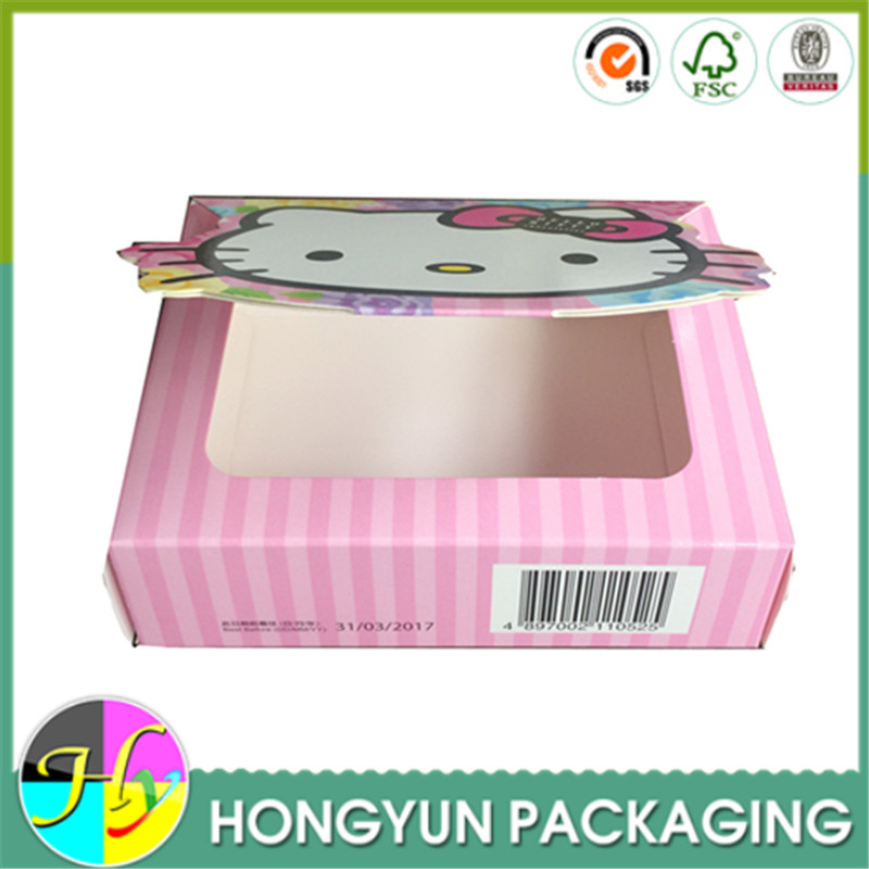 Wholesale empty flip top korean candy box