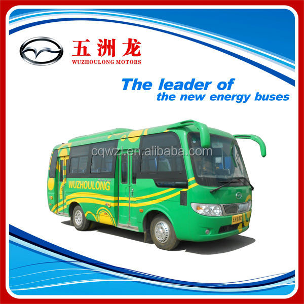 6.6m size 18 seats diesel Mini Country city bus