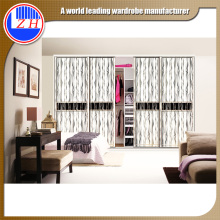 2016 hot Guangzhou factory modern bedroom wardrobe cabinet furniture set
