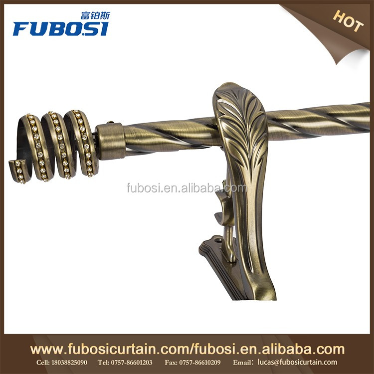 New designs decorative curtain poles tracks curtain rod accessories Arched Curtain Rod