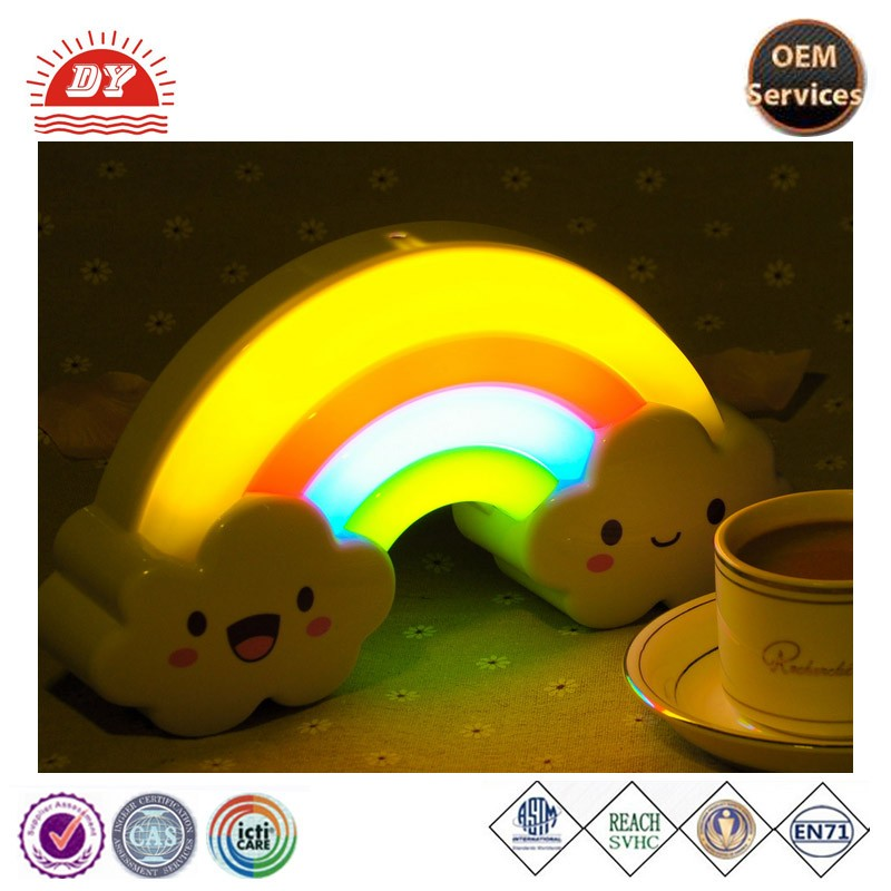 custom vinyl PVC 3d led lamp cloud night light