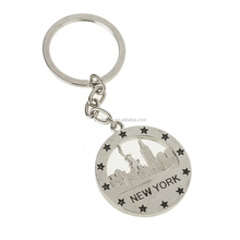 Asia China Factory Wholesale Custom Metal coin holder keychain