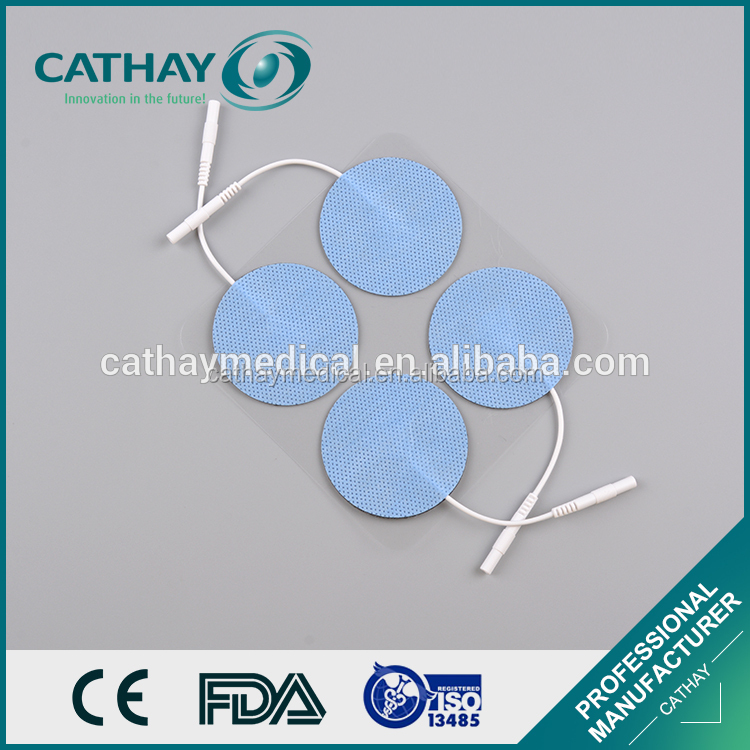 Factory directly supply FDA certificated ECG electrode snap self-adhensive pad
