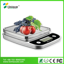 CE Unique Digital Pocket Mini ABS Plastic Balance Manual Nutrition 5kg Personal Weight Food Kitchen Weighing Electronic Scale
