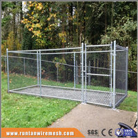 wholesale large chain link Iron Fence Dog Kennel (factory)