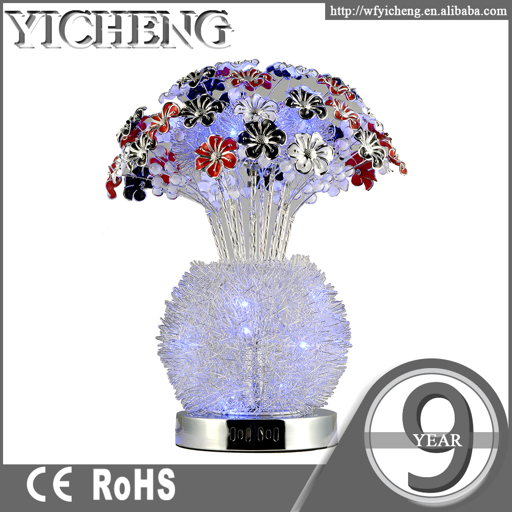 Modern industrial 3d fancy lamp led show pieces for home decoration