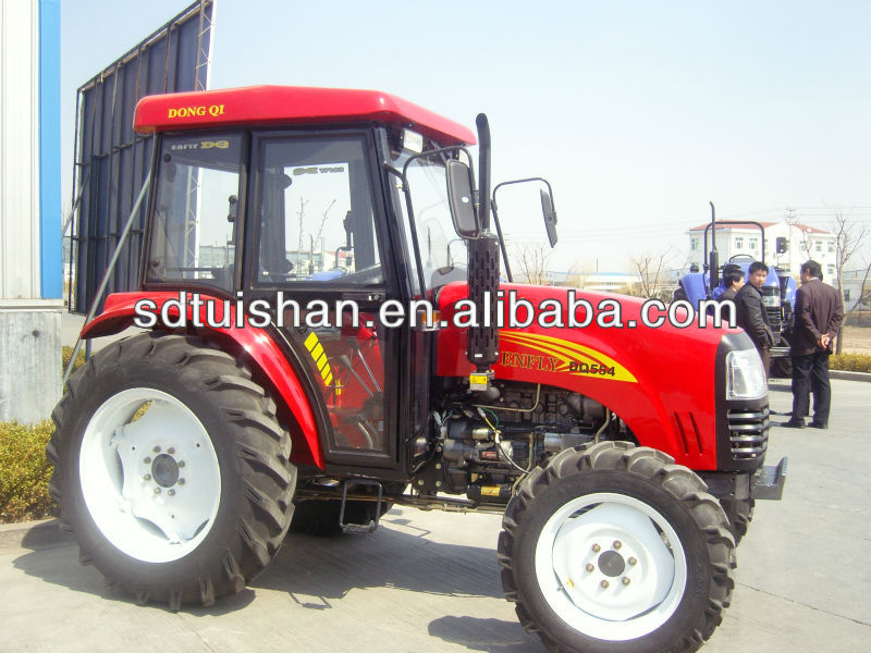 55 hp Mini Garden Farm Tractor With Front Loader