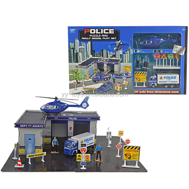 Most popular military toys play set police play set for child
