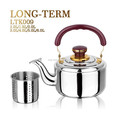 LTK009D stainless steel insulated kettle with strainer