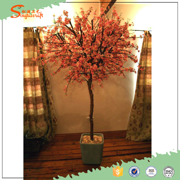 home interior decor best selling products for 2016 silk flowers peach blossom