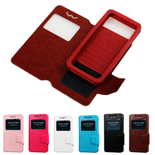 hot selling pu leather universal flip phone case