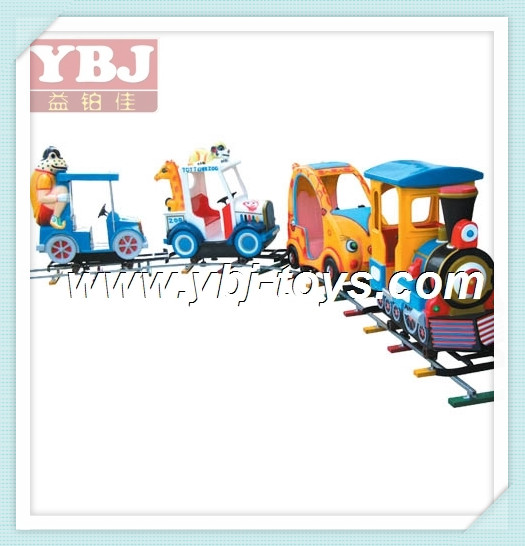 2014 Attractive Cheap Kids Indoor Outdoor playground electric track train for sale