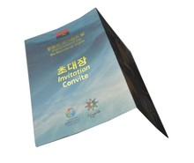 Chinese high quality A4 A5 A6 softcover brochure book printing services