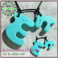 BPA Free Silicone Baby Teething Necklace Wholesale Mydear