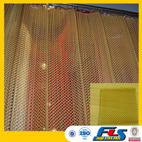 Architectural Decorative Metal Coil Drapery Price/Decorative Metal Mesh Drapery