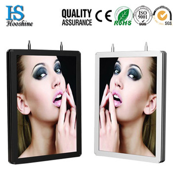 standing double sided light box