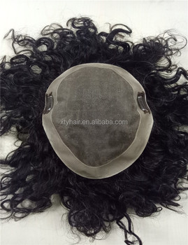 Alibaba Mens Hair pieces afro hair wigs for black men price