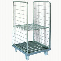 New arrival roll cage laundry container