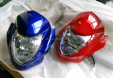 Supply BROSS-8B 200cc motorcycle head light complete repuestos de motocicleta WX2502GY-8B