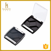 New design cosmetic packaging of eyeshadow container pallets empty custom plastic packaging