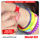 Debossed Silicone Wristband - Promotional Silicone Wristbands