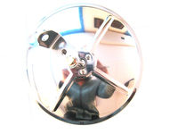6 '' INCH TRUCK CONVEX ROUND SIDE MIRROR