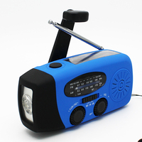 Rechargeable LED Torch Radio With Emergency