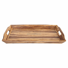 5*8 Inches double side water against paper wooden tray in Durable Feature