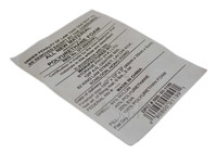 Pillow case tyvek printing label for sale