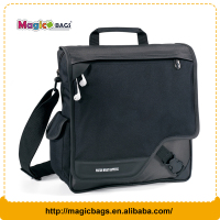 Classical black suitable for man shoulder messenger bag