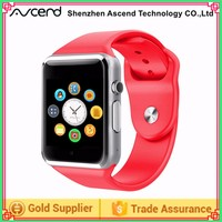 A1 Bluetooth Smart Watch Micro SIM SD Card For iPhone Android Phone Samsung HTC