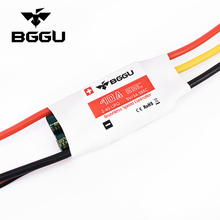 BGGU 40A ESC 2-6s Lipo 5V/3A BEC Switch RC Brushless Speed Controller for RC Aircraft RC Helicopter