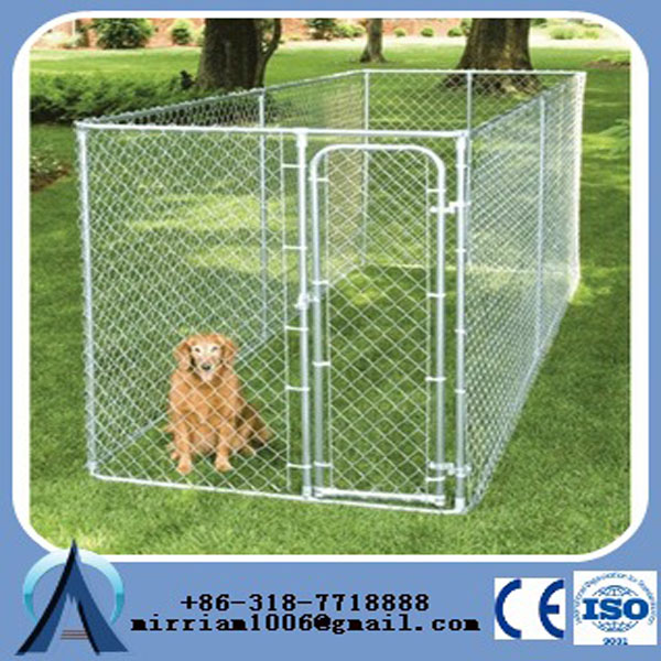Heavy duty Cheap Chain Link Dog Kennels/ weld mesh outdoor large dog run kennel