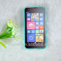 Jelly soft TPU gel skin cover mobile phone case for Nokia Lumia 630