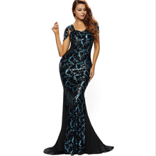 Party sexy lady new arrival plus size bodycon bare back mermaid hollow out long big size women dress evening dress
