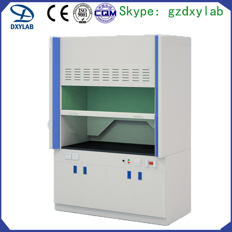 Hot sale all steel laboratory fume chamber with table top