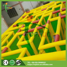 Outdoor Magnetic Inflatable tunnel cube maze for sale