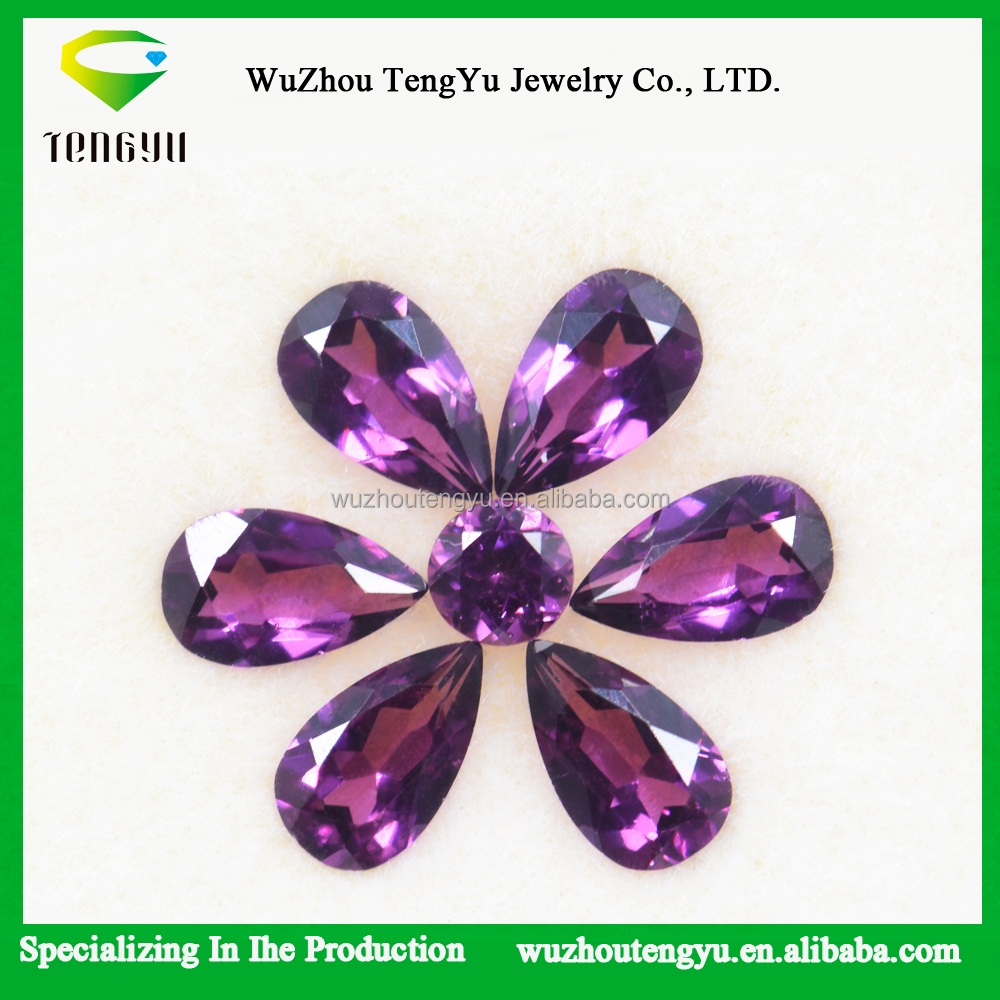 Top Quality natural red Rhodolite garnet gemstone For Jewelry