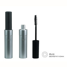 Silver Square Plastic Popular Wholesale New Empty Mascara Tube