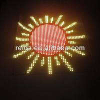 Original design led advertising large road led sign outdoor