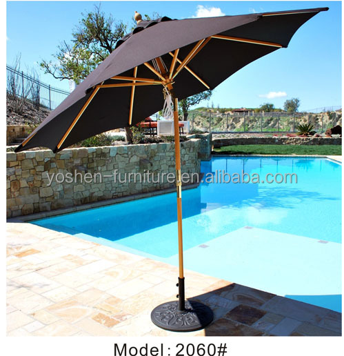 Outdoor Swimming pool aluminum umbrella
