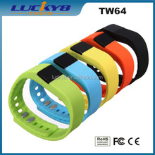 Sports assistant soft different color ultra-thin Smart Band with watch with Stopwatch/alarm/HR monitor/Calories/Sleep