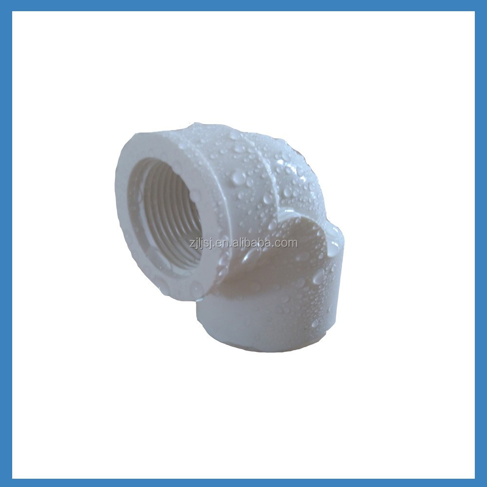 Threaded Male/Female 90 Degree Elbow For PVC Pipe