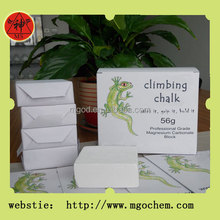cheap sports chalk/climbing chalk used in sports/non-slip